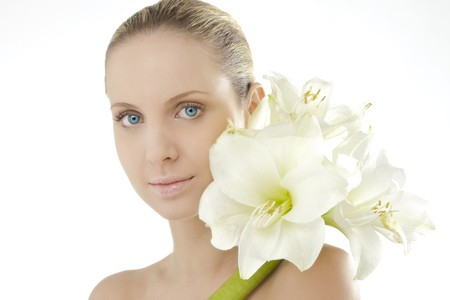 Natural beauty with Amaryllis Stock Photo - 7368891