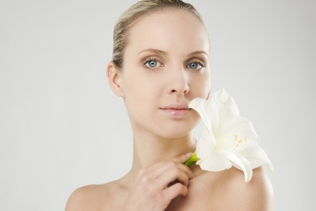 Natural beauty with Amaryllis photo