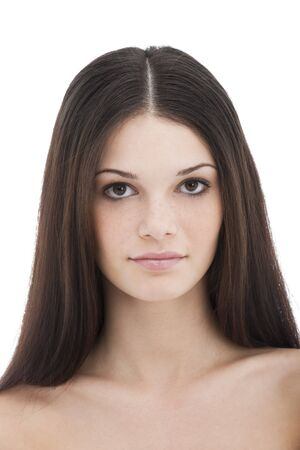 brown hair: Beauty with long Brown Hair