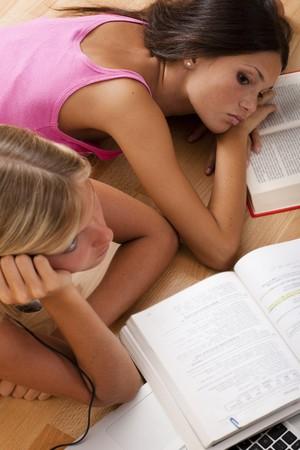 Bored students photo