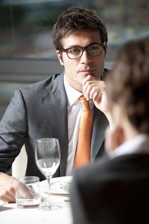 Business Dinner or Elegant Couple Stock Photo - 9319574