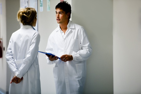 Medical Personnel Consulting Stock Photo - 11207032