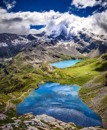 Colle del Nivolet, Gran Paradiso National Park, Italy