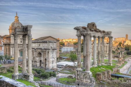 Forum romain Sunset HDR