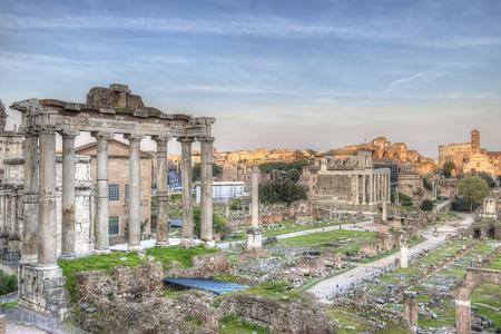 hdr: Roman Forum Sunset HDR 2