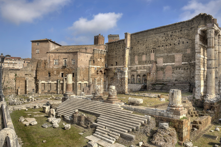 augustus: Rome, Forum of Augustus - wide view