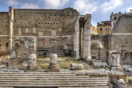 augustus: Rome, Forum of Augustus - front view