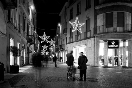 Vigevano (Lombardy, in the Province of Pavia), during the Christmas period