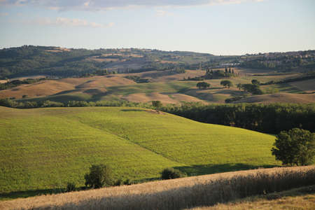 Beautiful Tuscany Landscape, Val DOrcia