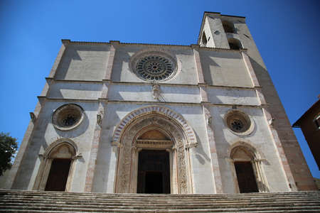 The Todi Cathedral, in Italy