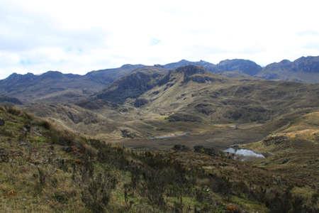 El Cajas National Park in Ecuador Reklamní fotografie