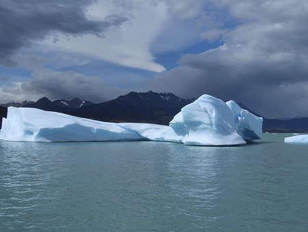 Iceberg on Lake Argentino, Patagonia argentina