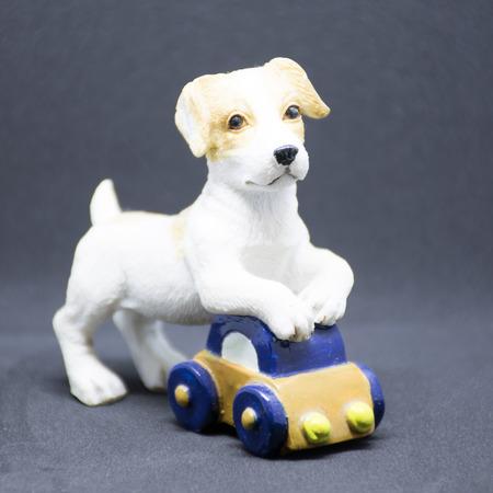 Cute ceramic dog