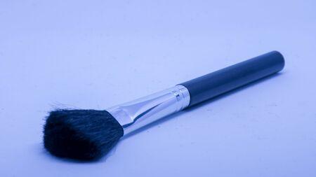 Brush with black bristles