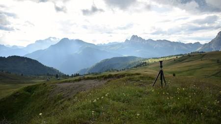 Panorama on the Dolomites