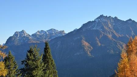 Limpid autumn panorama