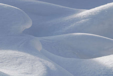 beautiful snow forms