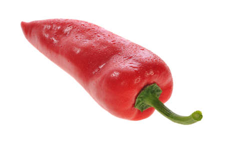 paprika on a white background Stock Photo