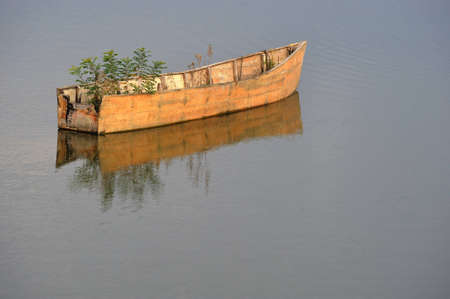 boat of salvation Stock Photo - 13167280