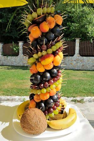 fruits arranged Stock Photo