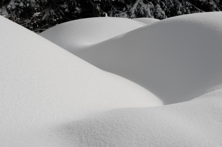 background by beautiful snow forms Stock Photo - 17474765