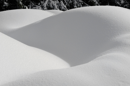 background by beautiful snow forms Stock Photo - 17474766