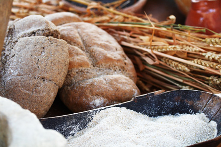 wild oats: Wheat, flour and bread