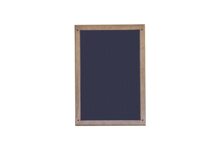 responded: Blackboard with wooden frame .Empty blank black chalkboard with chalk traces Stock Photo
