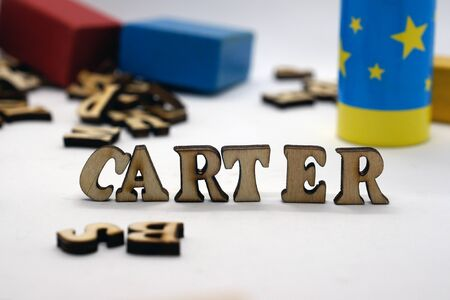 Popular american male first name carter