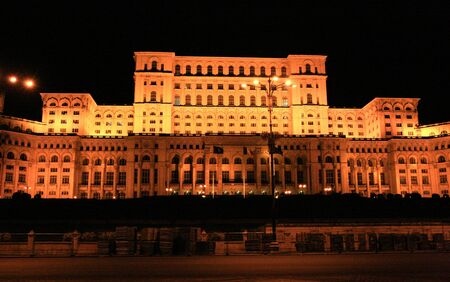 The Parliament House, Bucharest, Romania