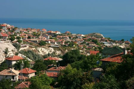 General view of Balcic, Bulgaria