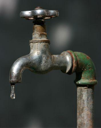 Vintage outdoor tap photo