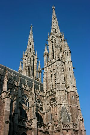 The Saint Peter and Paul Church in Oostende, Belgium Banque d'images