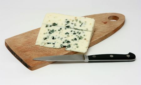 penicillium: Serving the french cheese - roquefort variety