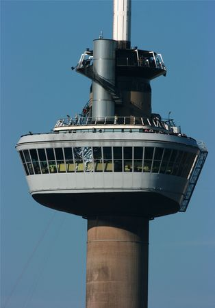 euromast: The Euromast Tower - extreme close-up