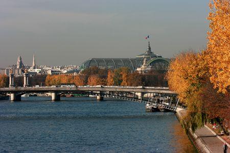 Autumn colors in Paris Banque d'images