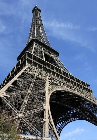 wideangle: Wide-angle view of the Eiffel Tower