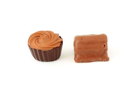 exquisite: Exquisite chocolate candies Stock Photo