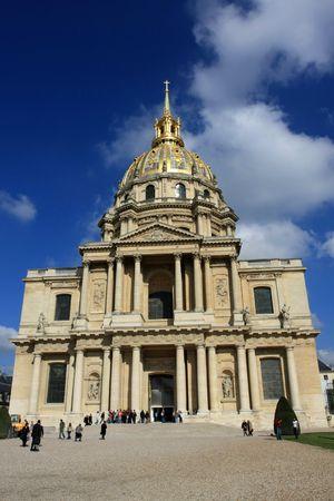 The Dome des Invalides Paris, France Stock Photo - 4847828