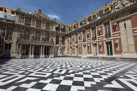 versailles: The Versailles Chateau Stock Photo