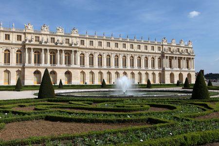 The Versailles Chateau Banque d'images