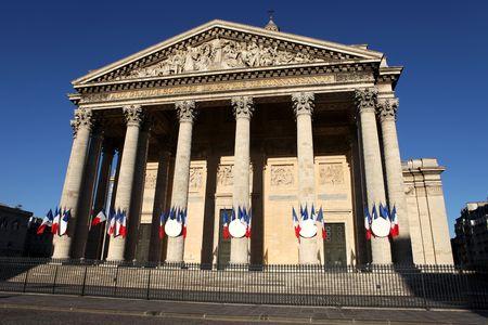 madeleine: La Madeleine church in Paris Stock Photo
