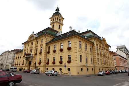 szeged: The Town Hall in Szeged, Hungary