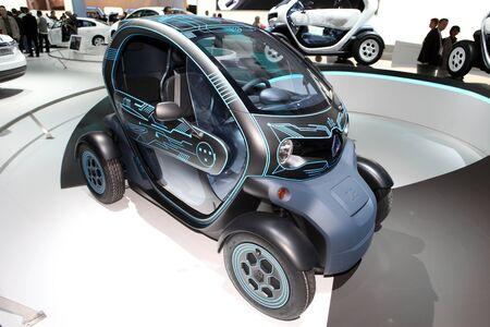 ze: Paris Motor Show 2-17 October 2010: the Renault ZE concept