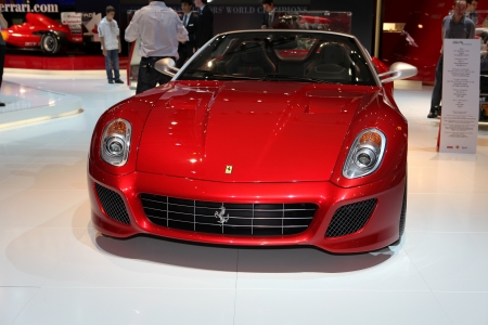 Paris Motor Show 2-17 October 2010: the new Ferrari 599 Éditoriale