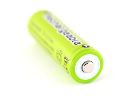 nimh: Rechargeable battery Stock Photo
