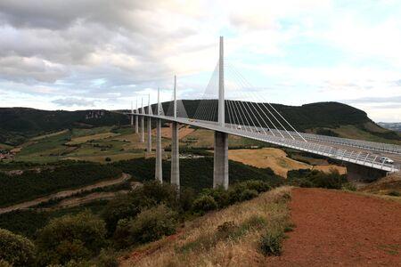 millau: The Millau Viaduct, Aveyron Departement, France