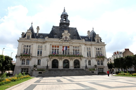 The Town Hall in Vichy, France