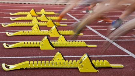sprint start Stock Photo - 7000125