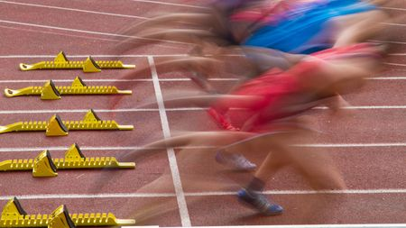 fast foot: sprint start
